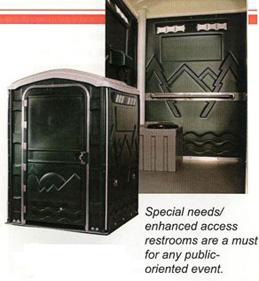 Handicap Accessible Portable Toilets MD